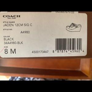 New Coach (Jaden) Sandals Size 8 M